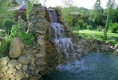 Оформление водоемов
